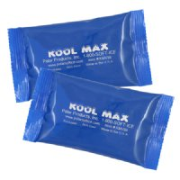 Two Kool Max 3 x 6 inch cold packs
