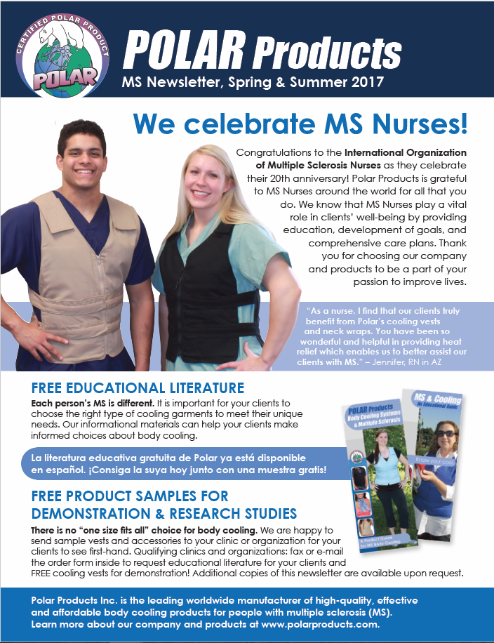 MS newsletter cover