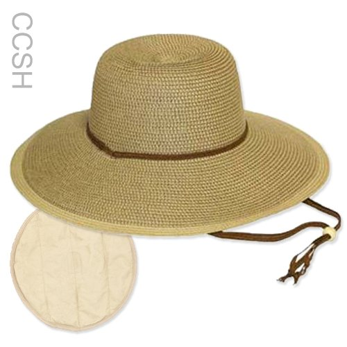 Outdoor Gardening Kit With Zipper Vest Cooling Straw Hat